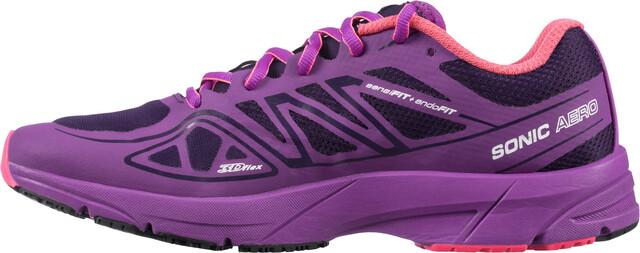 Sur Femme Chaussures Campz Violet Sonic Aero Running Salomon xUwqaYFq